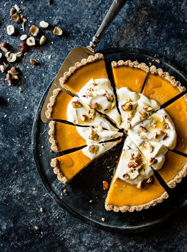 Kabocha Hazelnut Tart Gluten-Free Recipe