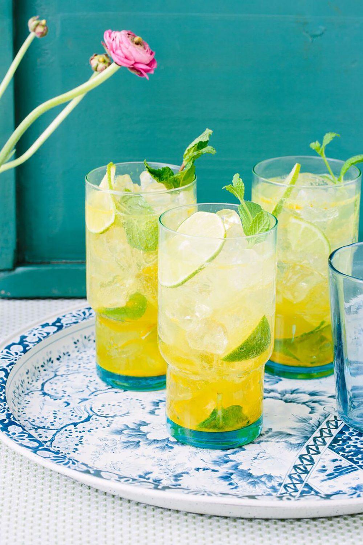 Gluten Free Cocktail Turmeric Mojito