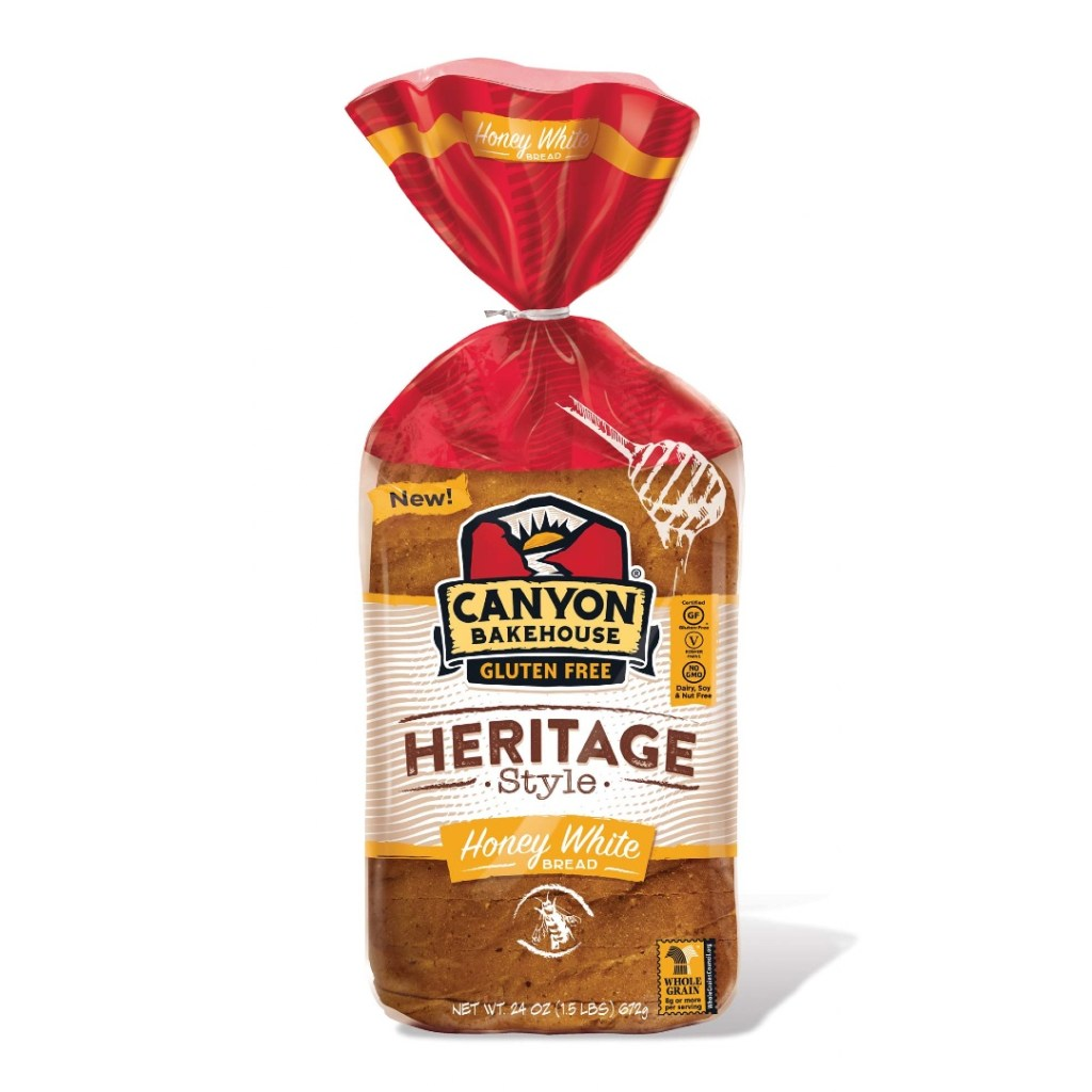 Product Review: Canyon Bakehouse Gluten Free Heritage Style Honey White