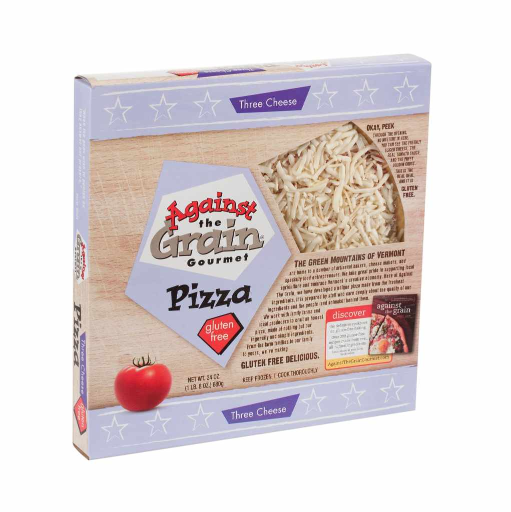 Product Review: Against the Grain Gourmet Three Cheese Pizza Product Review