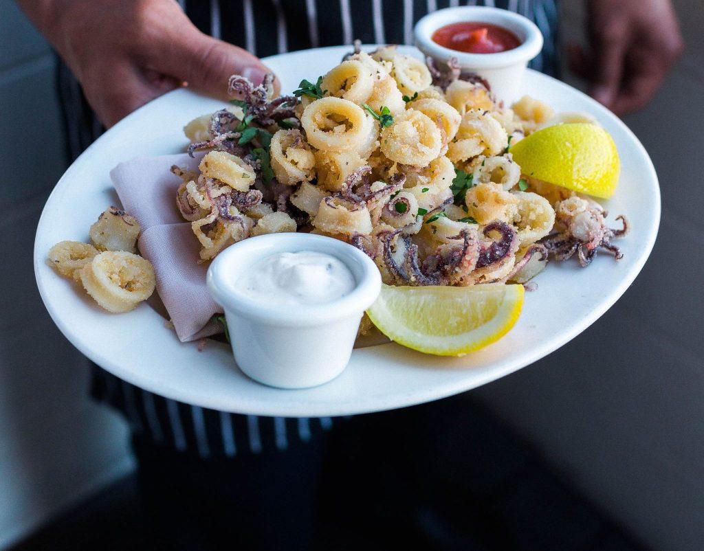Perfect Gluten-Free Fried Calamari à la Scoma's