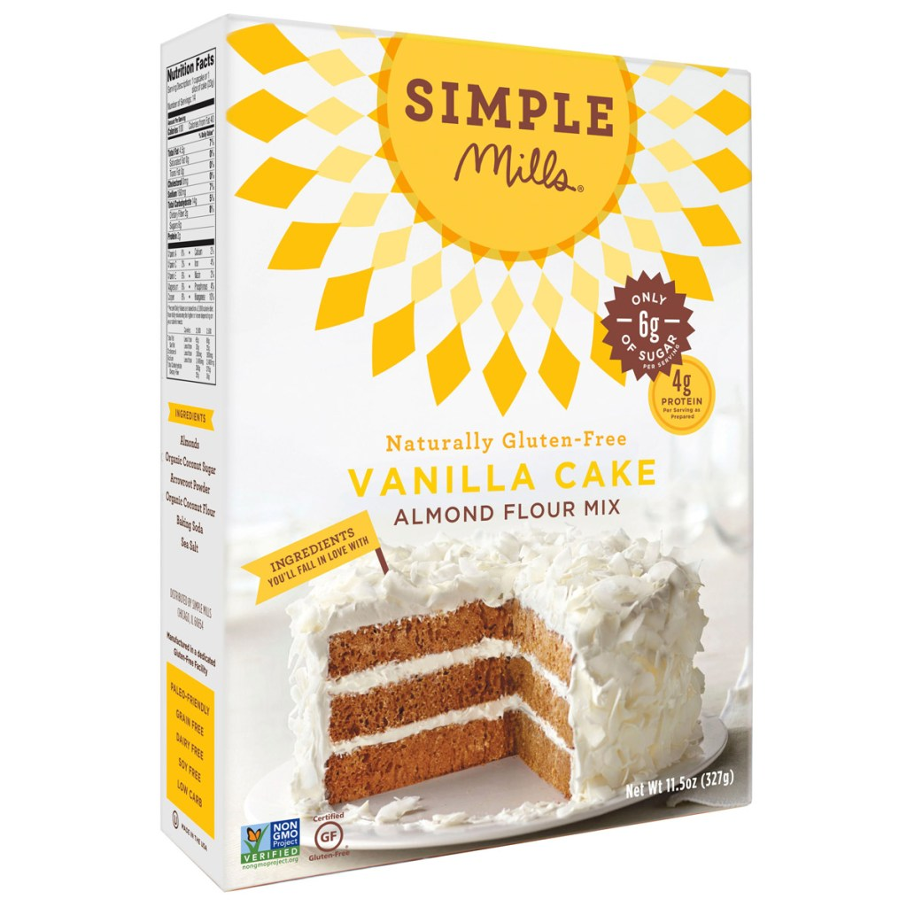 Simple Mills Vanilla Cake Almond Flour Mix Product Review