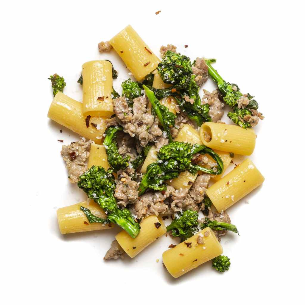 Pasta with Sausage and Broccolini