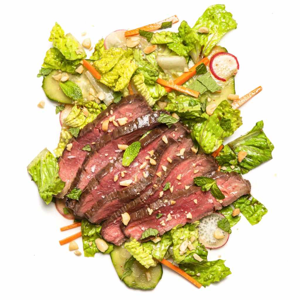 Vietnamese Steak Salad Gluten-Free Recipe