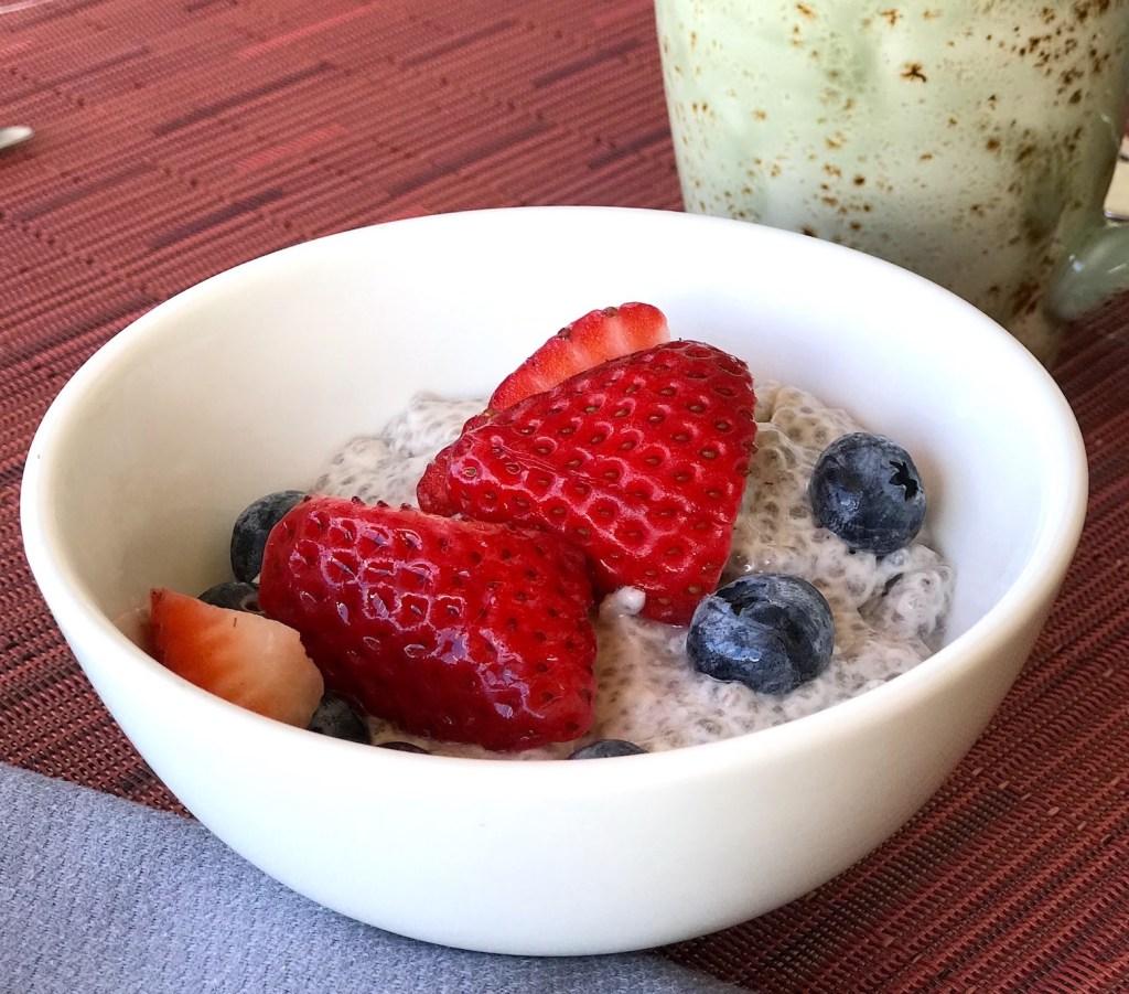 Dairy-Free Vanilla Chia Pudding