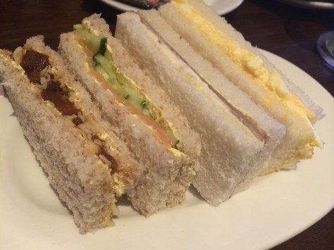 Champagne Central -  Sandwich selection