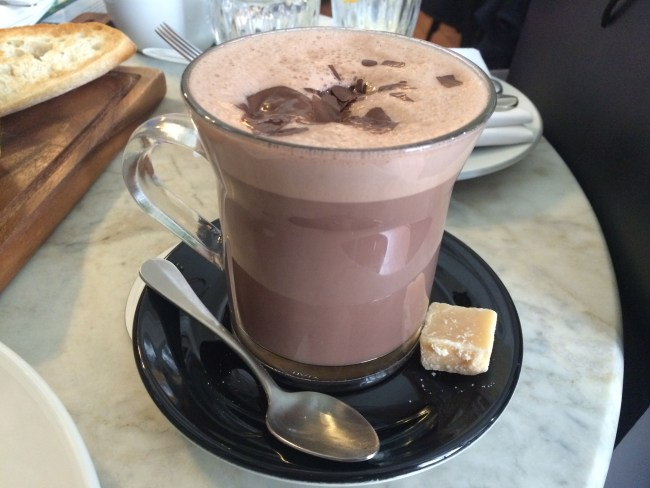 Salted Caramel Hot Choc Brunch Hurchesons May 2015