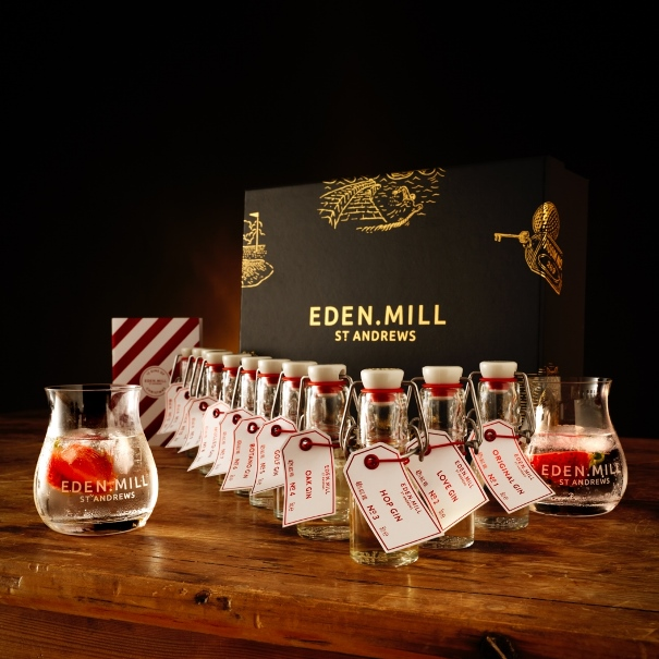 Eden Mill 12 Gins of Christmas - Best Food Advents Calendars 2017