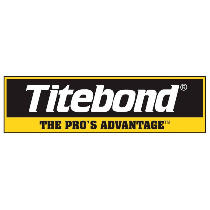 Titebond Black White Logo