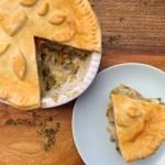 Chicken & Vegetable Pie {gluten free}