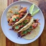 Slower Cooker Chicken Tacos {gluten free}