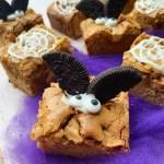 Halloween Caramilk Brownies {gluten free}