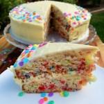 Funfetti Cake {gluten free}