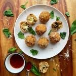 Cheesy Mushroom Arancini {gluten free}