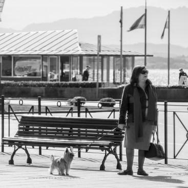 Señora con Perro.
