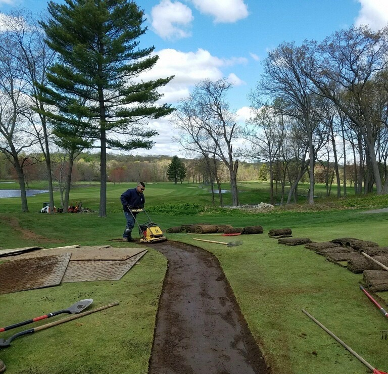 golf construction