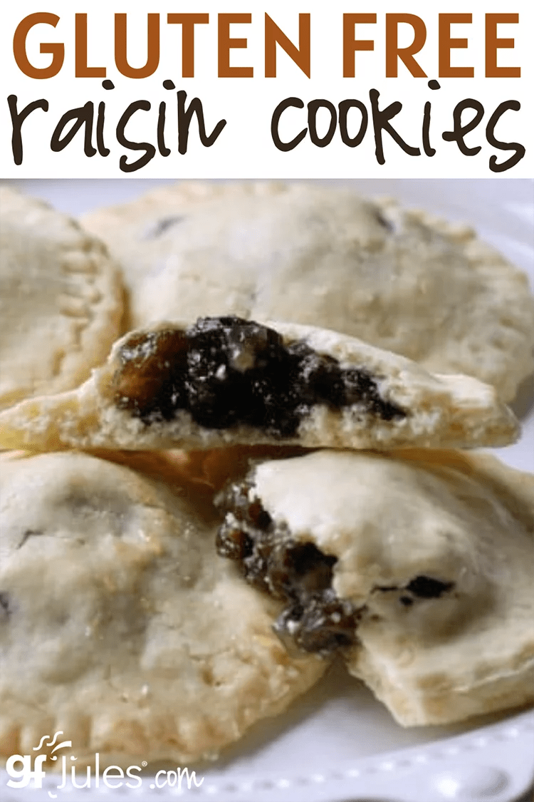 Raisin Filled Cookies Taste Of Home : raisin, filled, cookies, taste, Gluten, Raisin, Filled, Cookie, Recipe, GfJules, Makes, Recipes