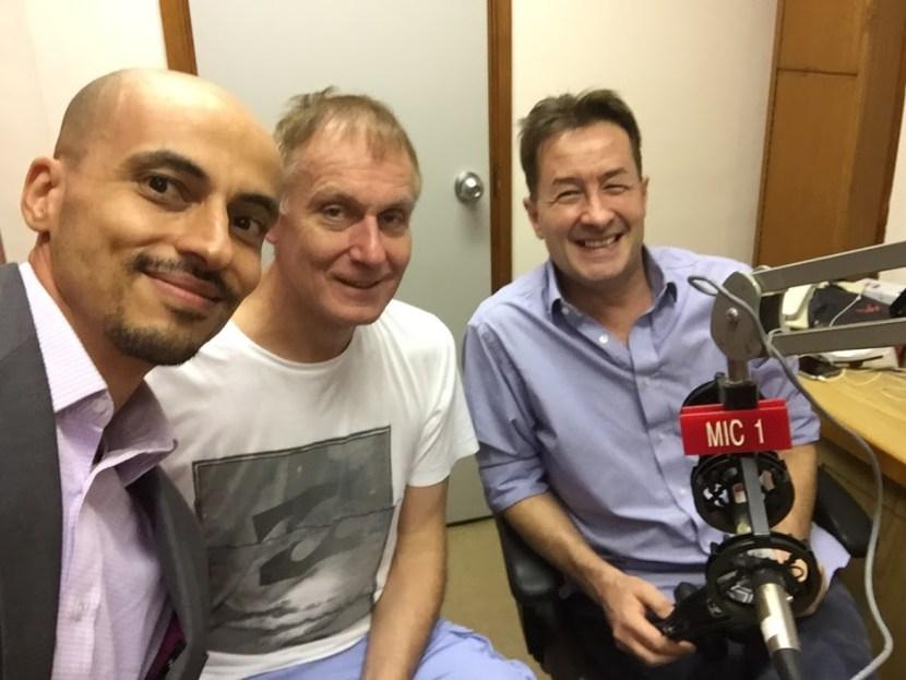 Tariq Dennison and Peter Lewis on RTHK Money Talk Xtra