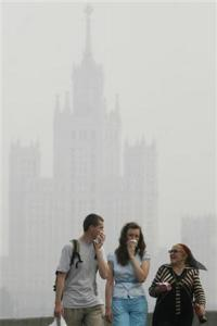 Heat Probably Killed Thousands In Moscow Photo: REUTERS/Alex Aminev