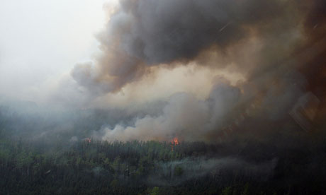 Wildfire in Alaska and impact on Greenland