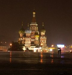 Rains finally helped cool and wash down Moscow Friday as the country suffers on through record heat wave.
