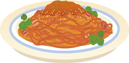 トマトスパゲッティ