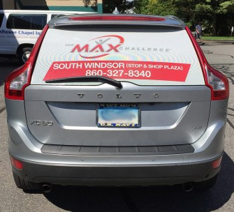 Vehicle Graphic in South Windsor, CT