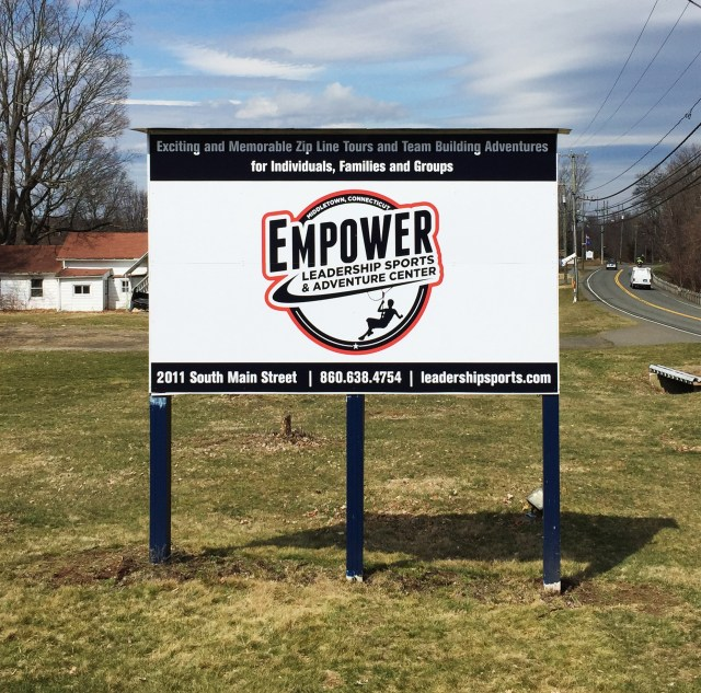Post and Panel Signs for Middletown CT