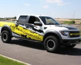 Custom Ford Raptor Vinyl Vehicle Graphiics in CT by G-Force Signs