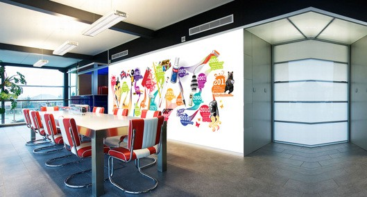 3 Ways to Use Office Wall Graphics in South Windsor CT