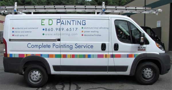 Ram Promaster Van Graphics In West Hartford Ct - -force