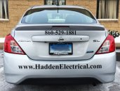 car graphics and lettering in Rocky Hill CT by GForce Signs