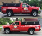 Truck Lettering and graphics in Willington CT by G-Force Signs