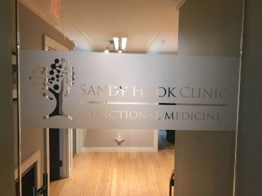 Frosted Window Graphics in Sandy Hook CT