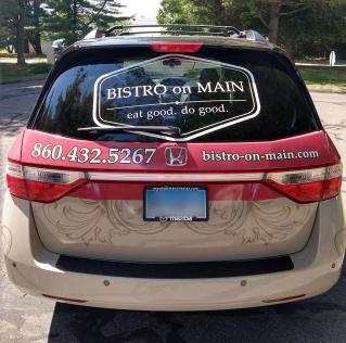 Vehicle Wrap in Manchester, CT