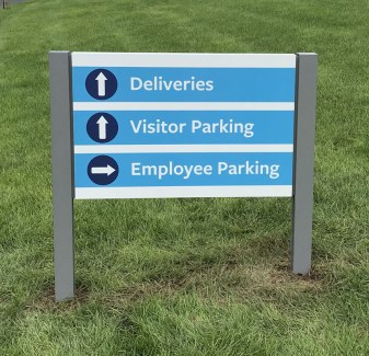 Directional Sign in South Windsor, CT