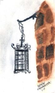 Lantern in Yemin Moshe
