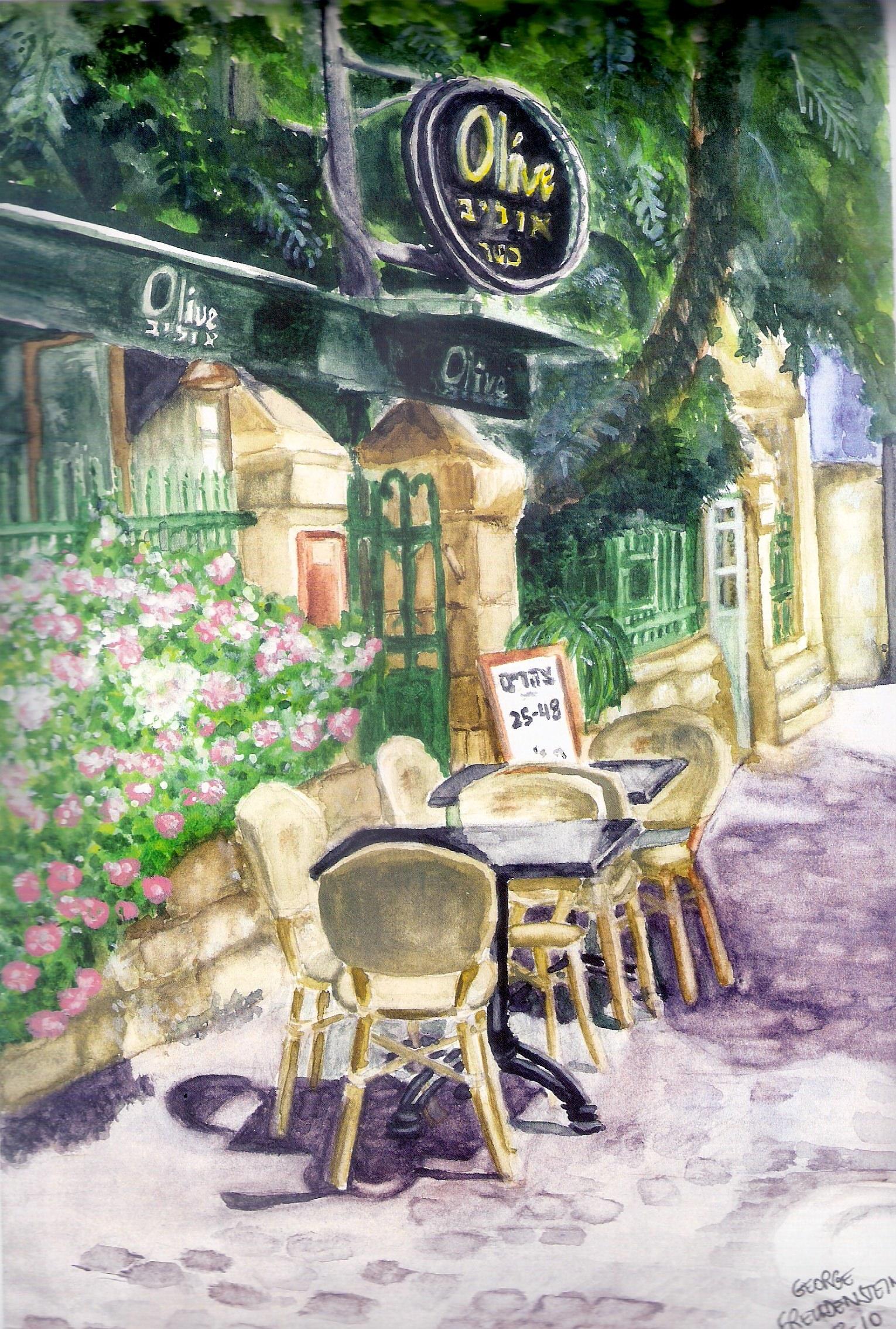 STREETSIDE AT OLIVE (Emek Refaim St., German Colony)