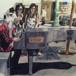 STONE PIANO (Junction of Jaffa Road and Shlomtzion HaMalka Street)