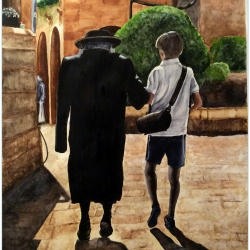 VENERATING THE ELDER (Jewish Quarter, Old City)