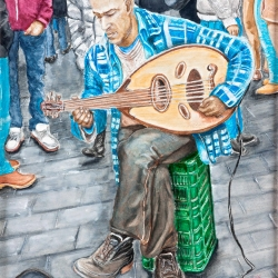 THE OUD PLAYER