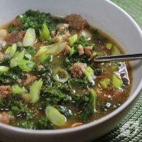 Sausage, Potato & Kale Soup