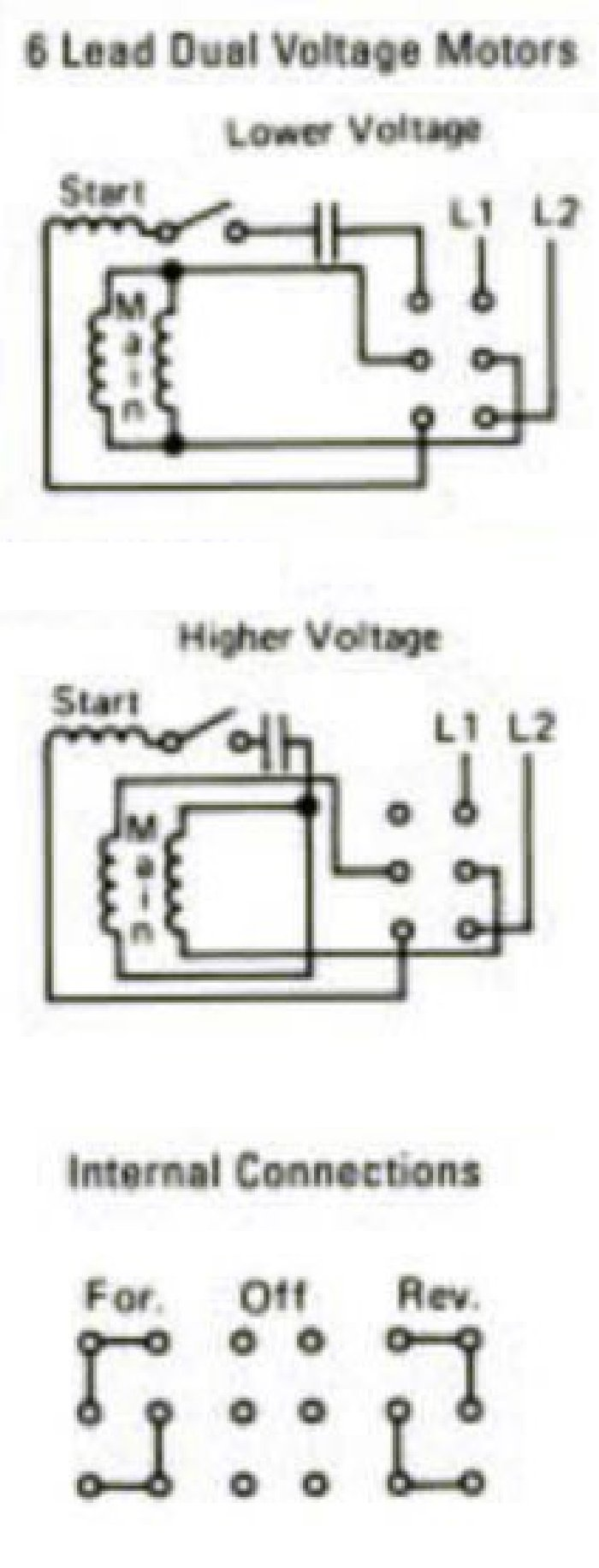 Generous 6 Lead Motor Wiring Gallery - Electrical and Wiring Diagram ...