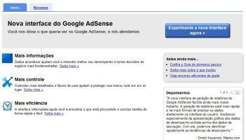 interface, google, adsense