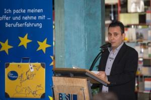 Göttinger Integrationsbeauftragter Isa Sandiraz; Bild (c) Andreas Vohl