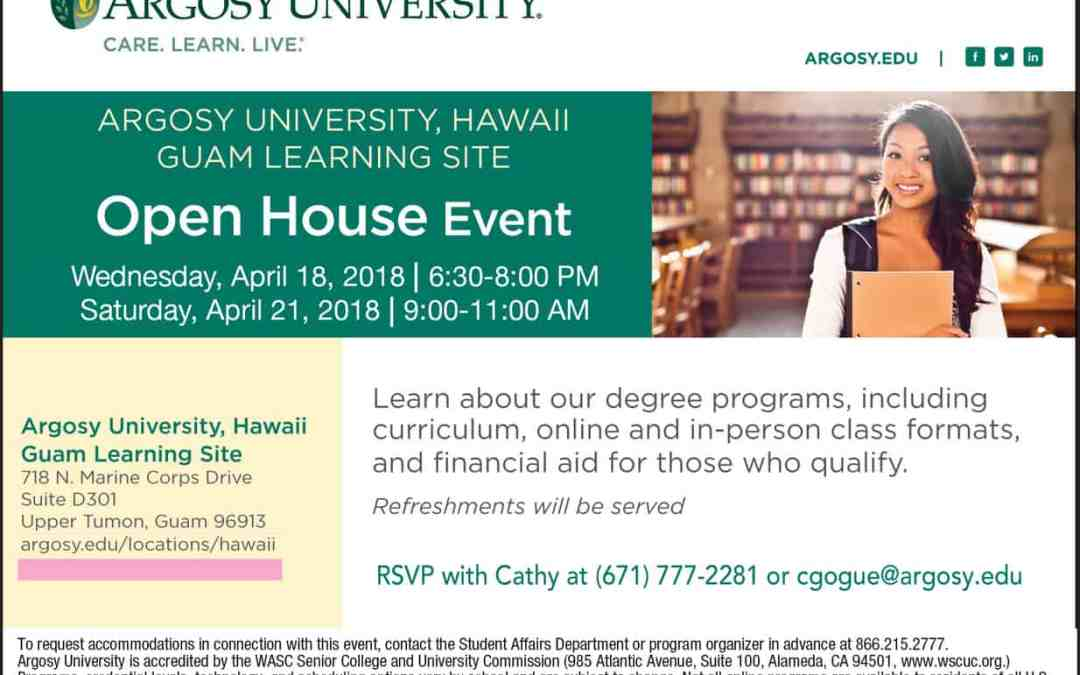 ARGOSY UNIVERSITY OPEN HOUSE