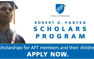 AFT ROBERT G. PORTER SCHOLARS PROGRAM