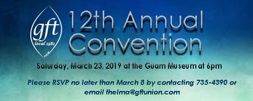 GFT ANNUAL CONVENTION: MARCH 23