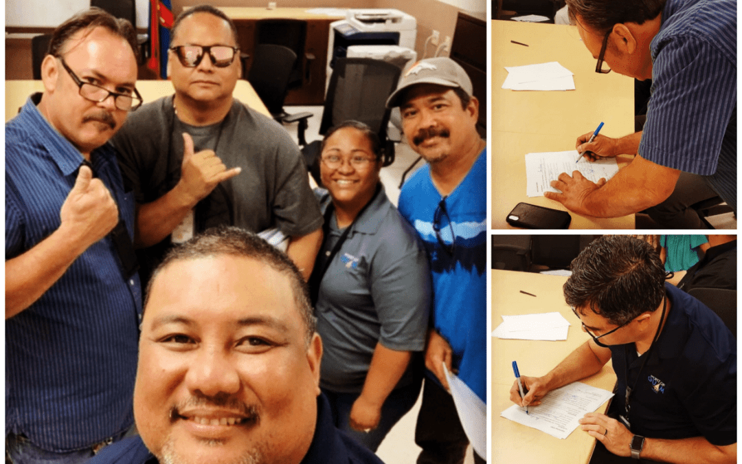 GFT & PORT NEGOTIATION TEAMS SIGN COLLECTIVE BARGAINING AGREEMENT