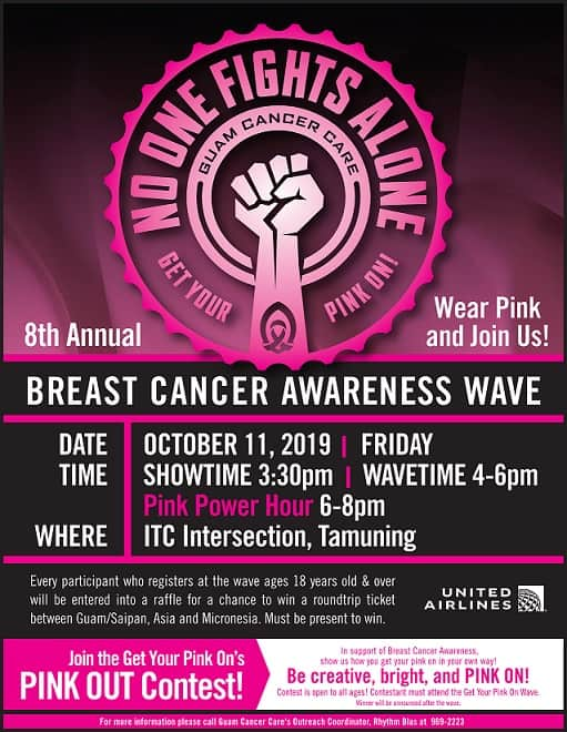 BREAST CANCER AWARENESS WAVE